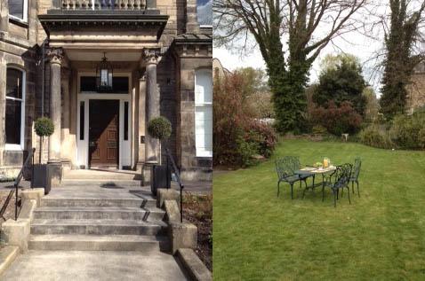 Entranceway & Garden