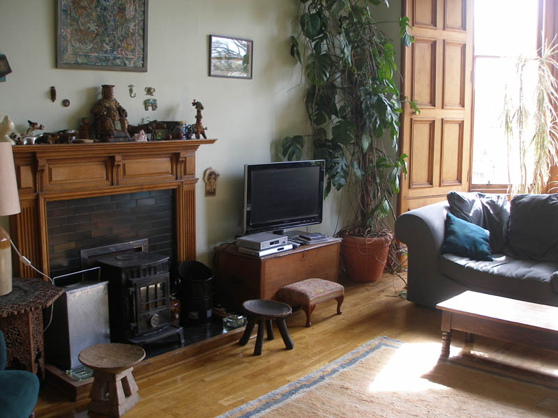 Edinburgh Rooms To Rent Theatrical Landlady Marchmont