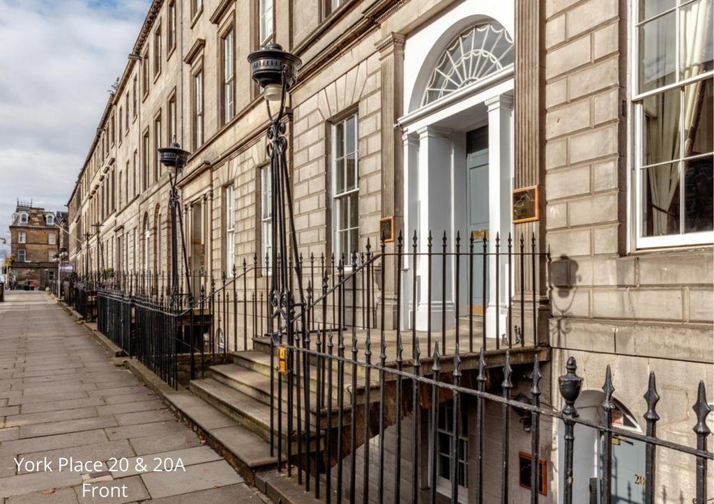 20 York Place: Entrance