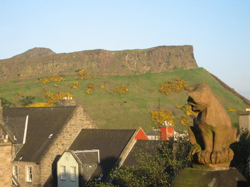 View to Salisbury Crags