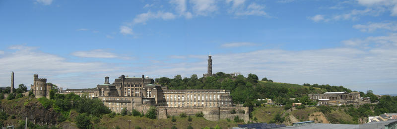 Looking to Calton Hill