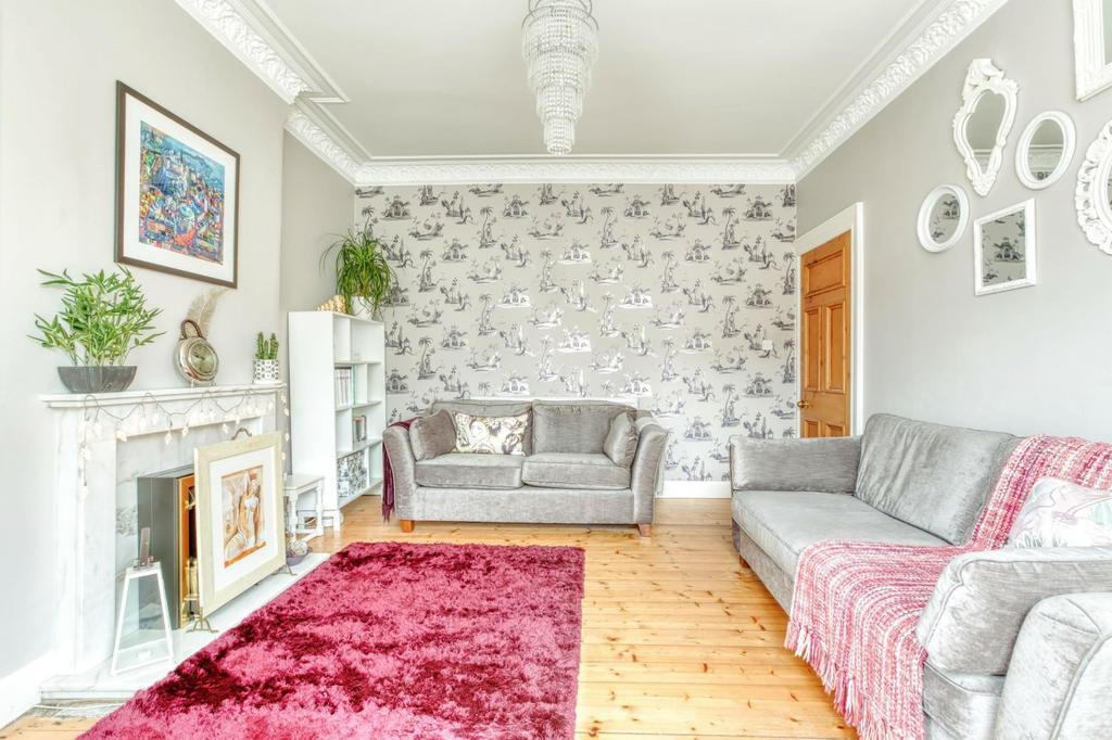 Large, bright lounge