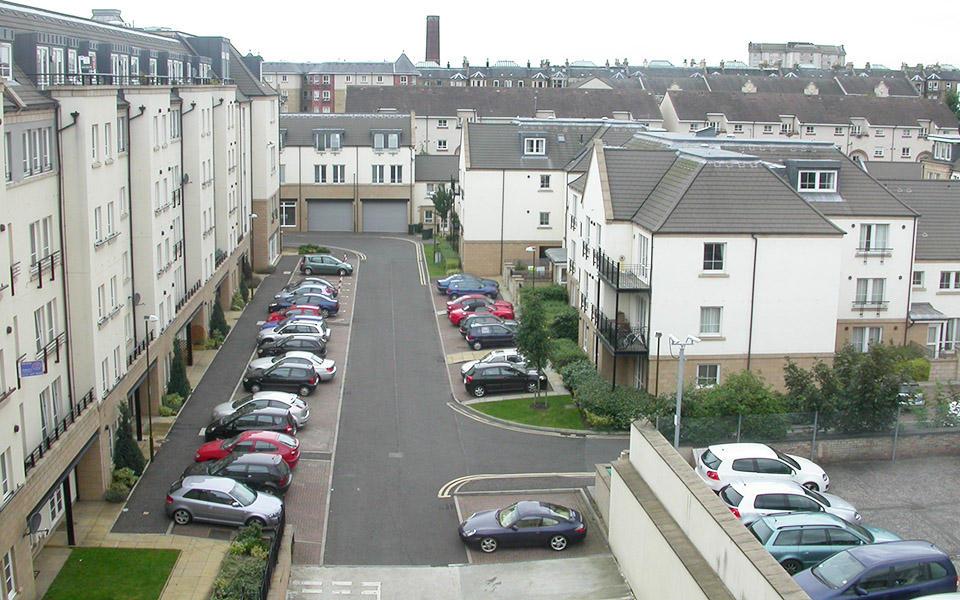 Parking Courtyard