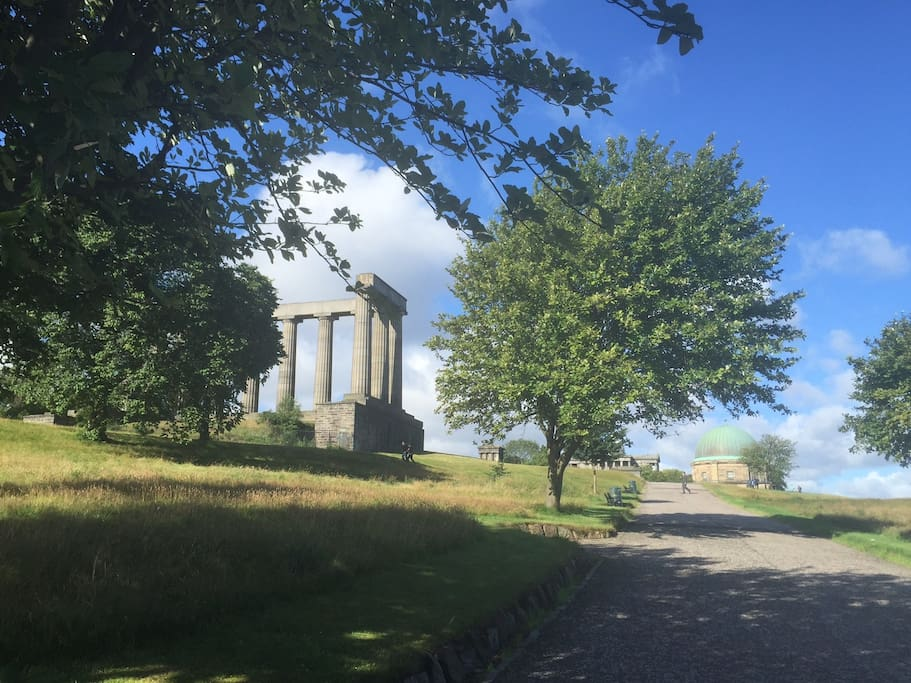 Edinburgh apartments 142 easter road apt 5 easter road calton hill is an ideal place to walk the dog or go for a picnic negle Images