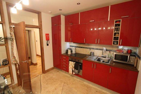 Kitchen/Livning area
