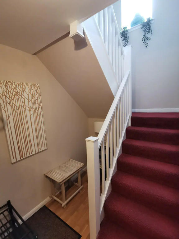 Entrance hall and stairs leading upstairs