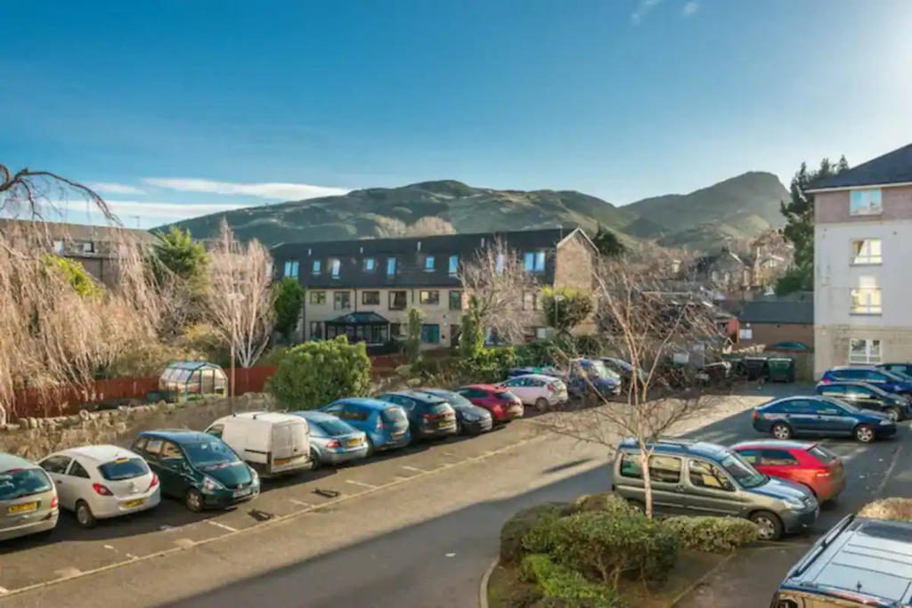Free car parking spaces available in front and at the back of the property