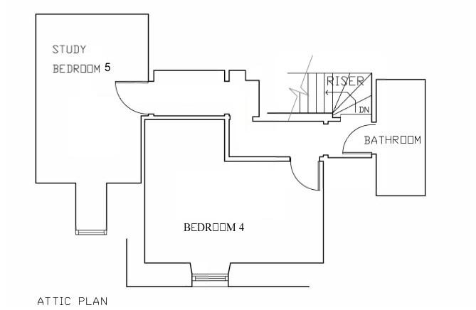 Floor plan: Attic