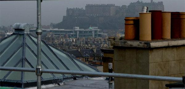 Views of Edinburgh Castle