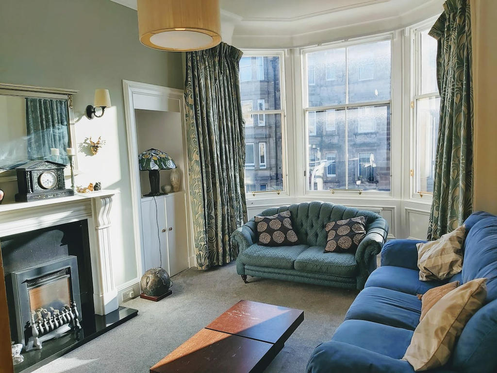 Sitting Room/TV room with gas fire