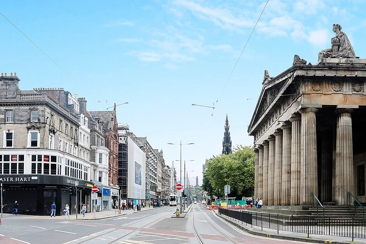 Princes Street (5 min walk)