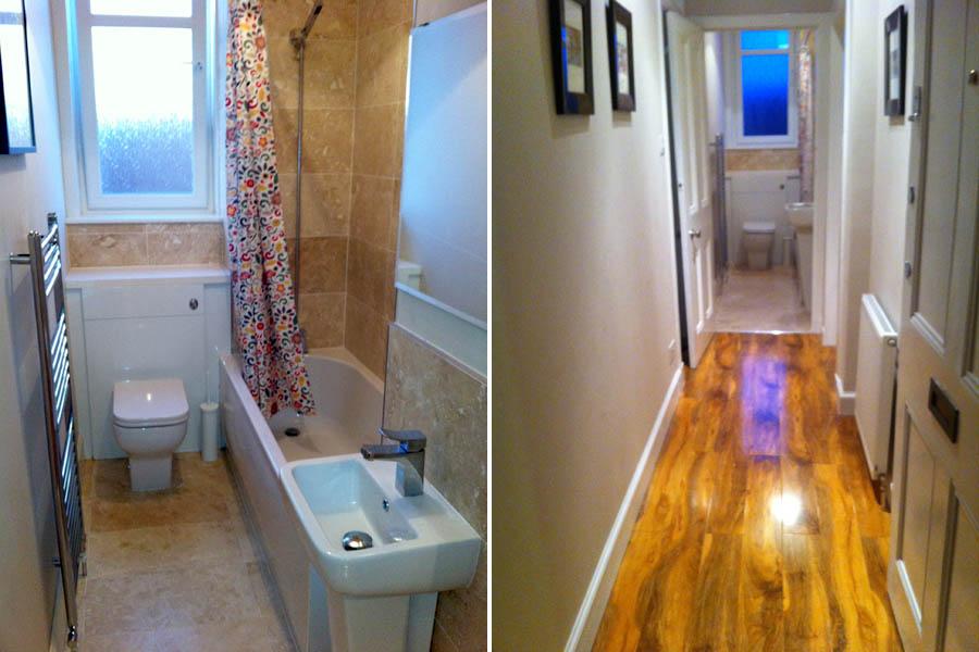 Bathroom & Hallway