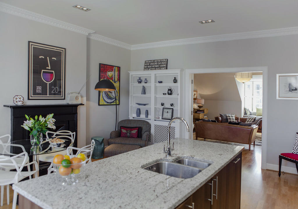 Luxurious Kitchen with Dining Area