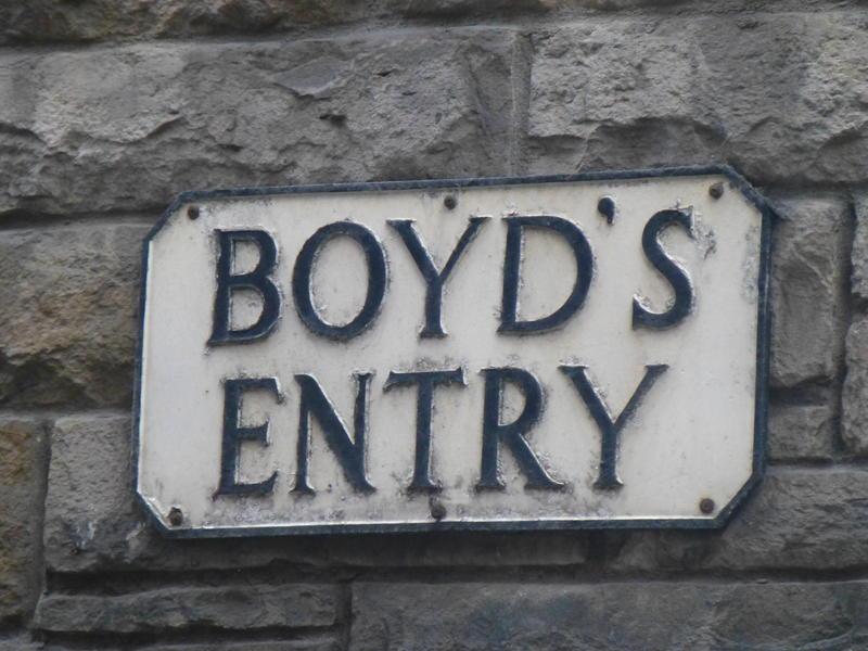 Boyd's Entry