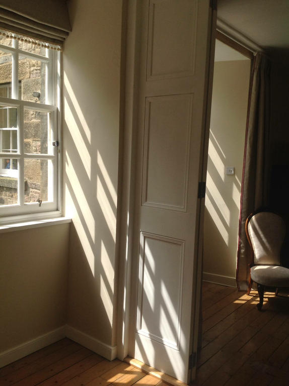 The apartment is very light, with windows on both sides
