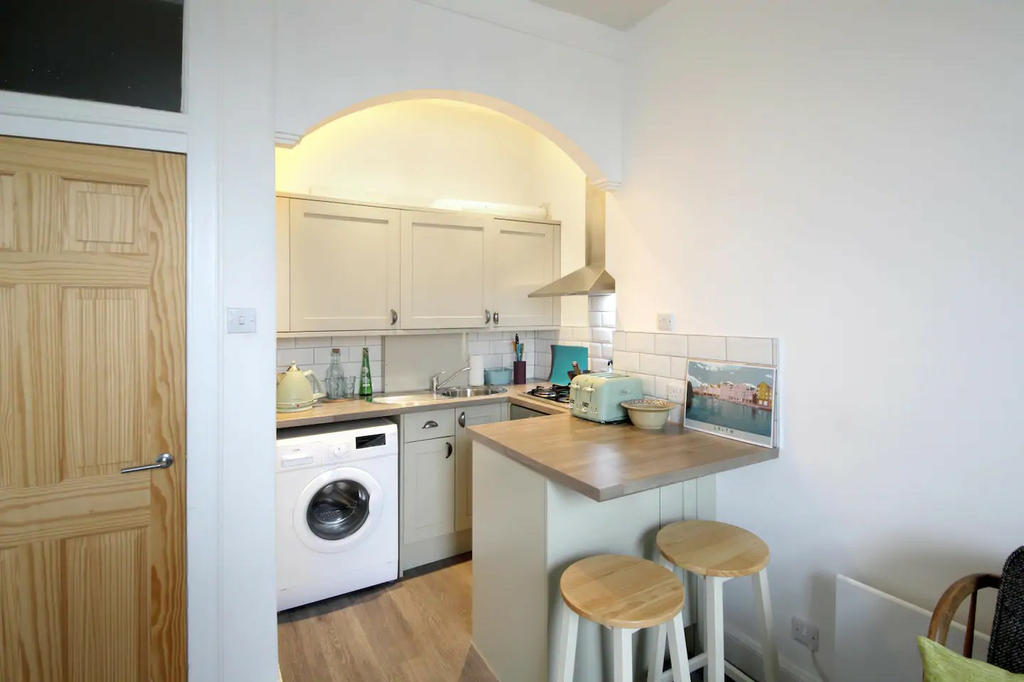 Newly refurbished kitchen and open plan lounge