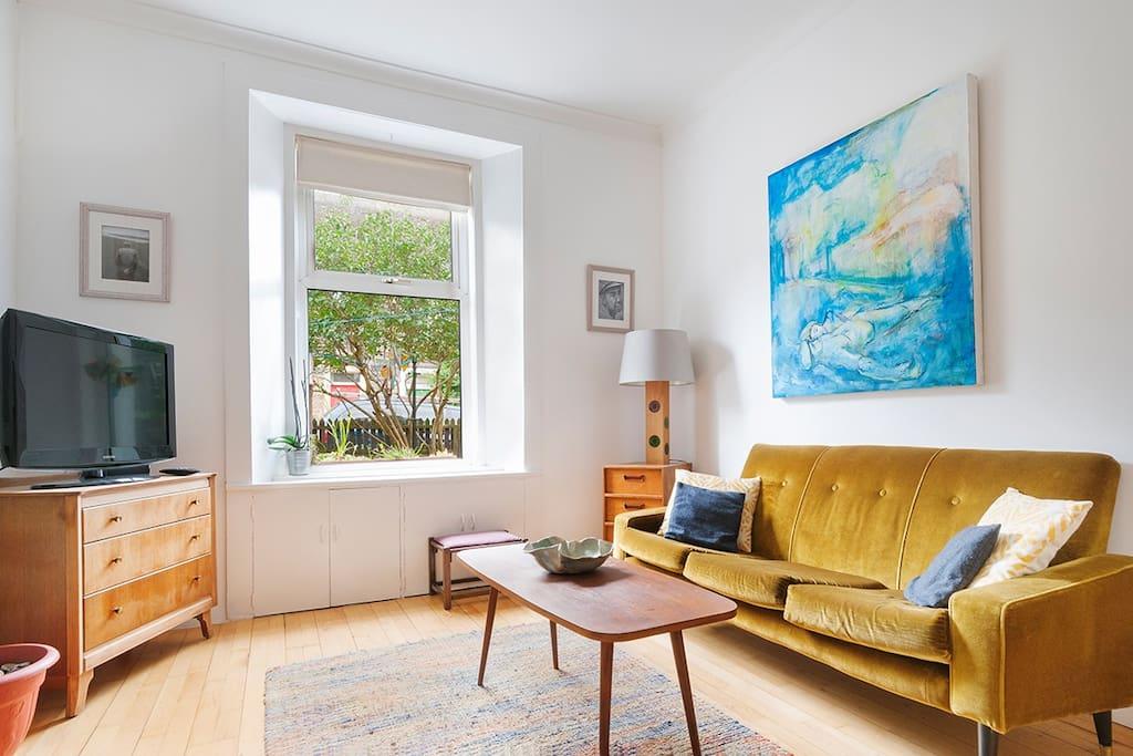 Stlish and comfortable living room