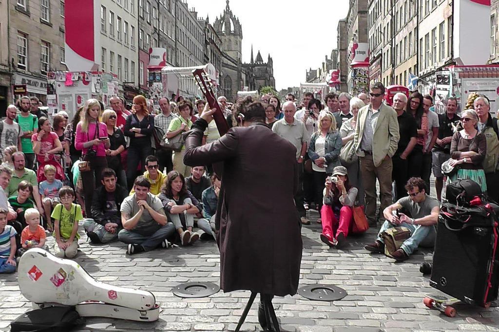 Every August Edinburgh plays host to the largest arts festival in the world.